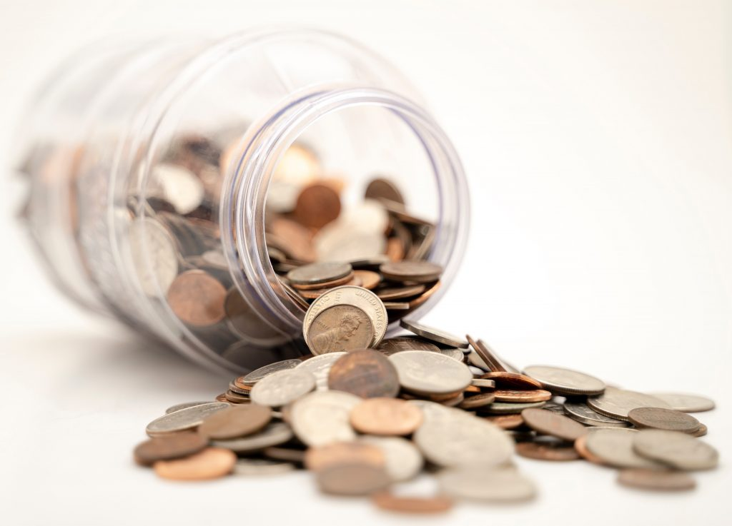 A Jar of Coins - Save money with a Smart Home
