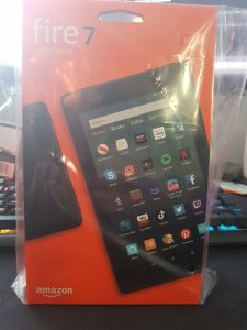Amazon Fire Tablet Packaging