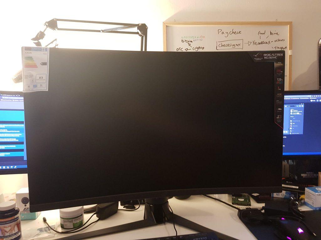 Asus Rog Strix XG32VC Gaming Monitor