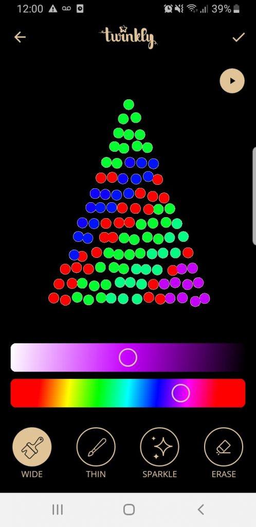 Custom Twinkly Christmas Lights